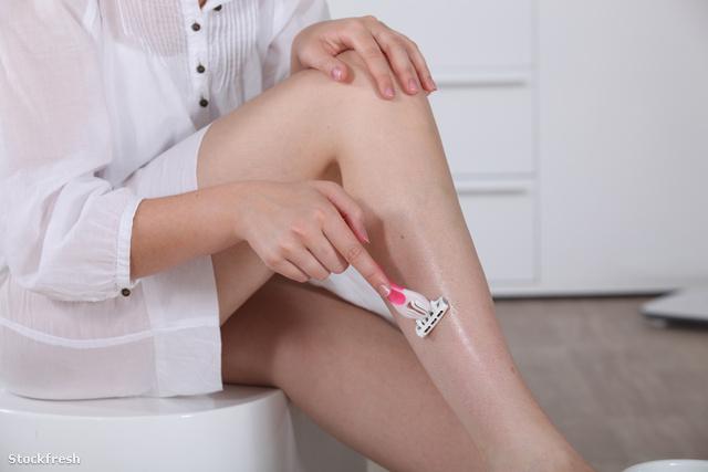 Hogyan lehet eltávolítani a lábak vörös pontjait borotválkozás után?? - Tünetek