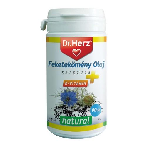 Dr.Herz Feketeköménymag olaj 100% 50 ml
