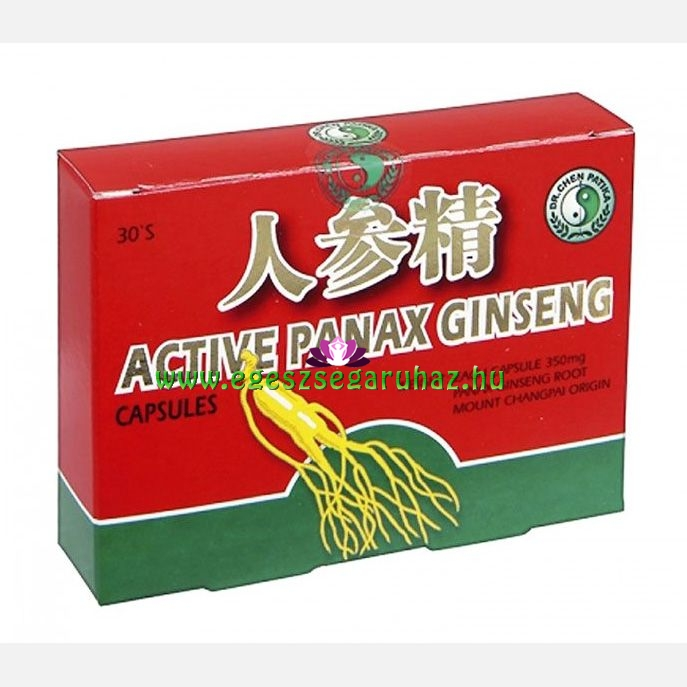Dr. Chen Ginseng Royal Jelly kapszula